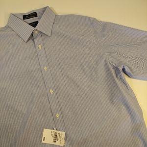 Nordstrom Men's Shop Blue Dress Shirt - 16 | 34